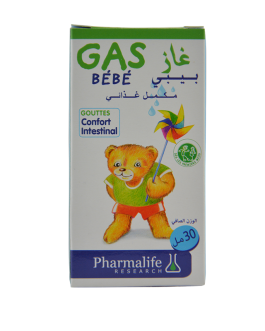 PHARMALIFE GAS BEBE GOUTTE CONFORT INTESTINAL 30ML