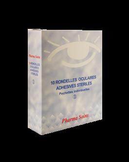 PHARMASOINS COMPRESSES OCULAIRE STERILISEES B/10