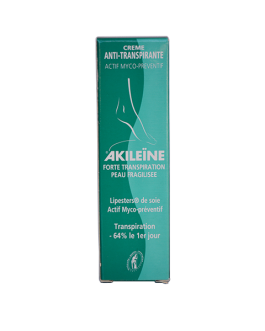 AKILEINE ANTI TRANSPIRANTE PEAU FRAGILISEE  30ML