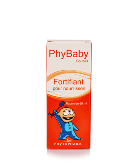 PHYTOPHARM PHYBABY FORTIFIANT NOURISSON GOUTTES 60...