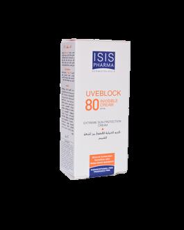 ISIS PHARMA UVEBLOCK SPF80+ INVISIBLE 40ML