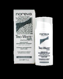 NOREVA TRIO WHITE SOIN DE NUIT DEPIGMENTANT 30ML