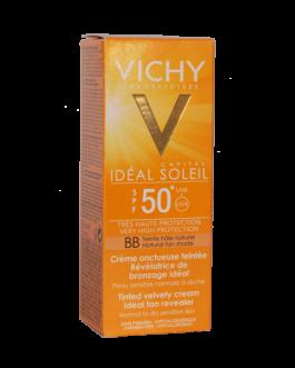 VICHY IDEAL SOLEIL BB ONCTUEUSE TEINTE SPF50+ 50ML