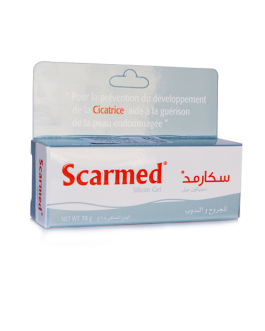 SCARMED CREME SILICONE GEL 75G