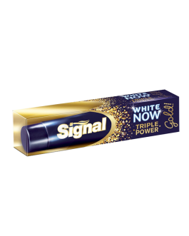 SIGNAL DENTIFRICE GOLD TRIPLE POWER 50ML