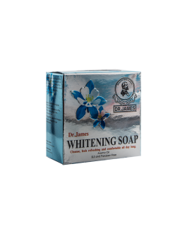 DR JAMES SAVON WHITENING 80GR