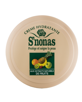 S'NONAS CREME HYDRATANTE AUX FRUITS 200ML