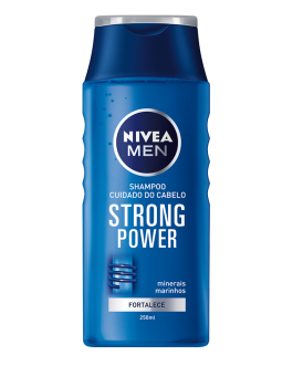 NIVEA MEN SHAMPOING STRONG POWER 250ML