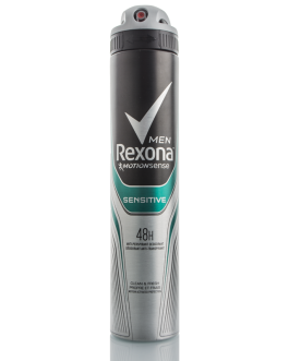 REXONA MEN DEODORANT SENSITIVE 48H 200ML