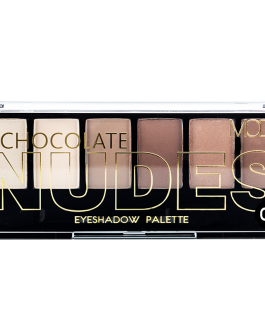 MODA CHOCOLATE NUDES  EYEHADOW 02