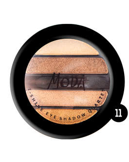 MODA I SHINE EYE SHADOW QHARTET 11