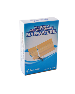 MALPASTERIL PANSEMENTS ADHESIF PERFORE 6CM*50CM