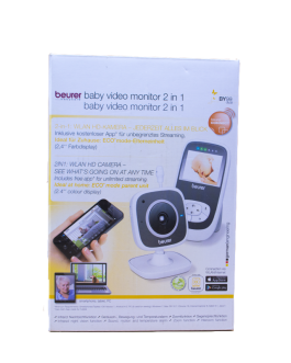 BEURER BABY VIDEO MONITOR 2IN1 BY99
