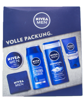 NIVEA MEN COFFRET VOLLE PACK 5PCS