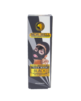 NEW WELL BLACK MASQUE PEEL OF 100GR