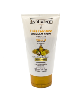 EVOLUDERM HUILE PRECIEUSE CREME GOMMAGE CORPS 150M...