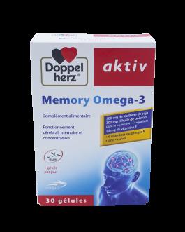 DOPPEL HERZ AKTIV MEMORY OMEGA-3 B/30
