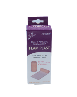 FLAMINGO FLAMIPLAST BANDAGE ADHESIF ELASTIQUE 1M*1...