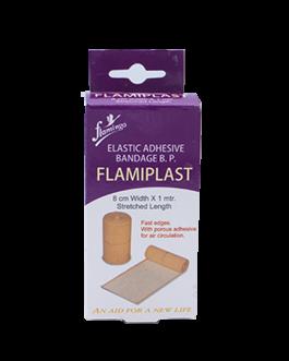 FLAMINGO FLAMIPLAST BANDAGE ADHESIF ELASTIQUE 1M*8...