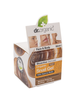 DR.ORGANIC SNAIL GEL D'ESCARGOT VISAGE ET CO...