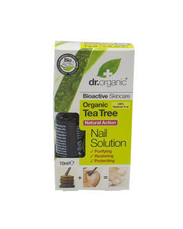 DR.ORGANIC TEA TREE NAIL SOLUTION 10ML