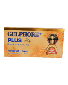 GELPHORE PLUS GELEE ROYALE 2000MG FORCE ET TONUS 1...