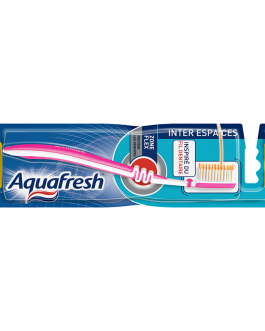 AQUAFRESH BROSSE A DENTS INTER ESPACES MEDIUM