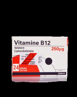 OPTIPHARM VITAMINE B12 250MG B/24