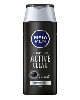 NIVEA MEN SHAMPOING ACTIVE CLEAN 250ML