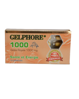 GELPHORE GELEE ROYALE 1000MG SANTE ET ENERGIE 10FL...