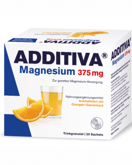 ADDITIVA MAGNESIUM 375MG SACHET B/20