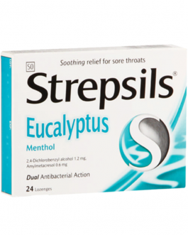 STREPSILS PASTILLES MONTHE ET EUCALYPTUS B/24