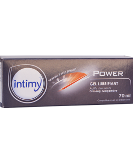 INTIMY POWER GEL LUBRIFIANT 70ML