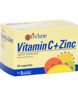 ACTIVLINE VIT C+ZINC