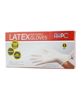 SOFT GLOVES GANTS LATEX S