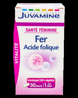 JUVAMINE FER ACIDE FOLIQUE  GELULE  B/30