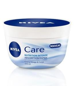 NIVEA CARE CREME NUTRITION POT 100ML