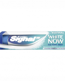 SIGNAL DENTIFRICE  WHITE NOW ICE COOL MINT 75ML