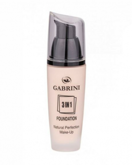GABRINI  3IN1 FOUNDAT NATURAL PERFECTION N01 45ML