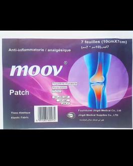 MOOV PATCH 10CM*7CM B/7