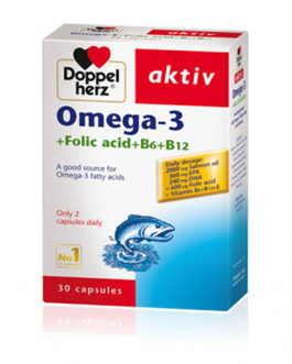DOPPEL HERZ AKTIV OMEGA-3 B/60