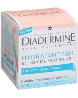 DIADERMINE HYDRATENT 48H GEL FRAICHEUR 50ML