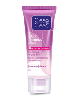 CLEAN CLEAR NATURAL BRIGHT CREME ECLAICISSANT OIL ...