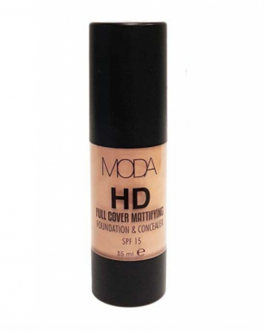 MODA HD MATTE FOUNDATION AND CONVEALER SPF15 01 35...