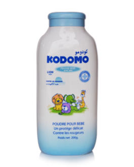 KODOMO TALC BEBE EXTRA DOUX BLUE 200G