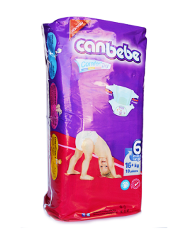 CANBEBE COUCHES EXTRA LARGE N:6 P/10