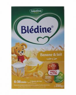 BLEDINE FARINE LACTEE BANANE & LAIT 250G