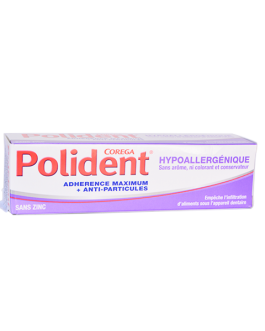 POLIDENT CREME ADHESIVE HYPOALLERGENIQUE 40G