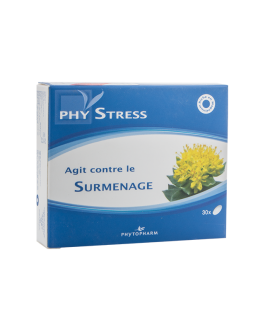 PHYTOPHARM PHYSTRESS AGIT CONTRE LE SURMENAGE B/30