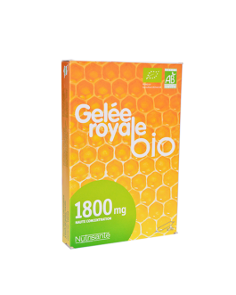 NUTRISANTE GELEE ROYAL BIO 1800MG AMPOULES BUVABLE...